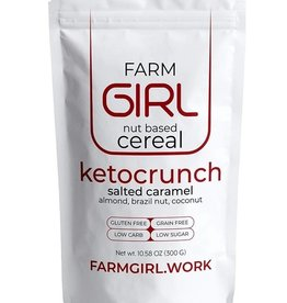 Farm Girl Farm Girl - Nut Based Cereal, Ketocrunch Salted Caramel (300g)