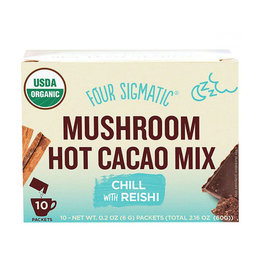 Four Sigmatic Four Sigmatic - Mushroom Hot Cacao Mix, Chill with Reishi (Box of 10)
