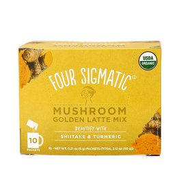 Four Sigmatic Four Sigmatic - Mushroom Latte Mix, Golden (Box of 10)