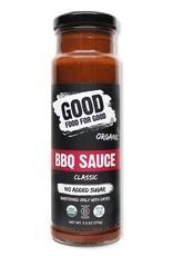 Good Food For Good Good Food For Good - Organic BBQ Sauce, Classic