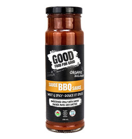Good Food For Good Good Food For Good - Organic BBQ Sauce, Sweet & Spicy