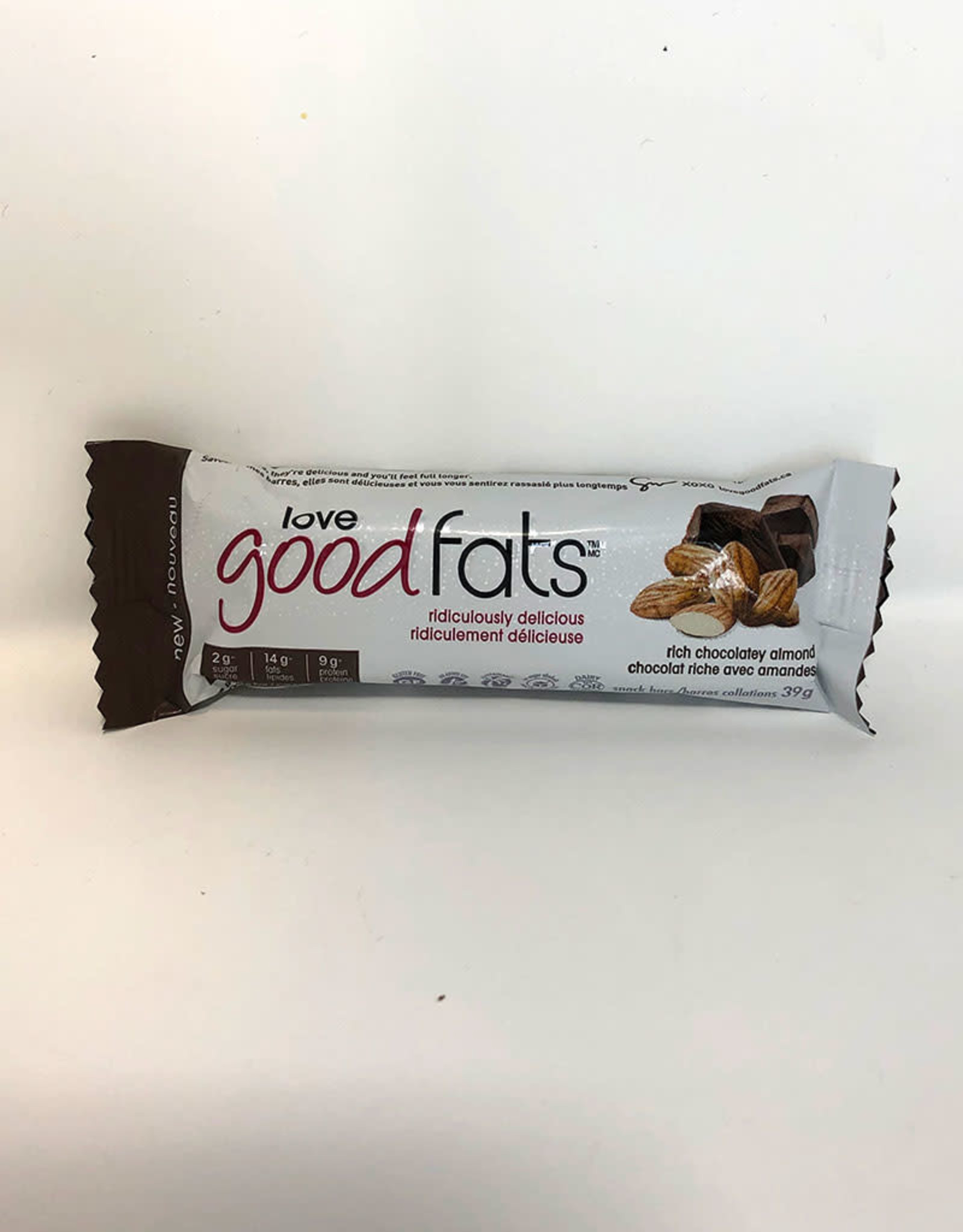 Love Good Fats Love Good Fats - Rich Chocolatey Almond