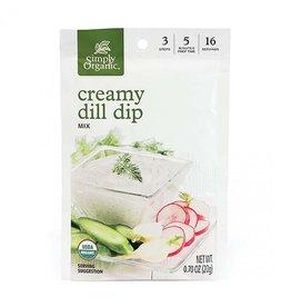 Simply Organic Simply Organic - Seasoning Mix, Creamy Dill Dip