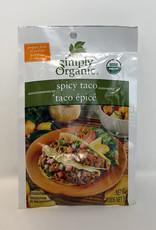 Simply Organic Simply Organic - Seasoning Mix, Spicy Taco