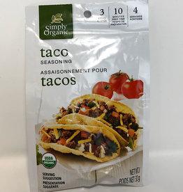 Simply Organic Simply Organic - Seasoning Mix, Taco