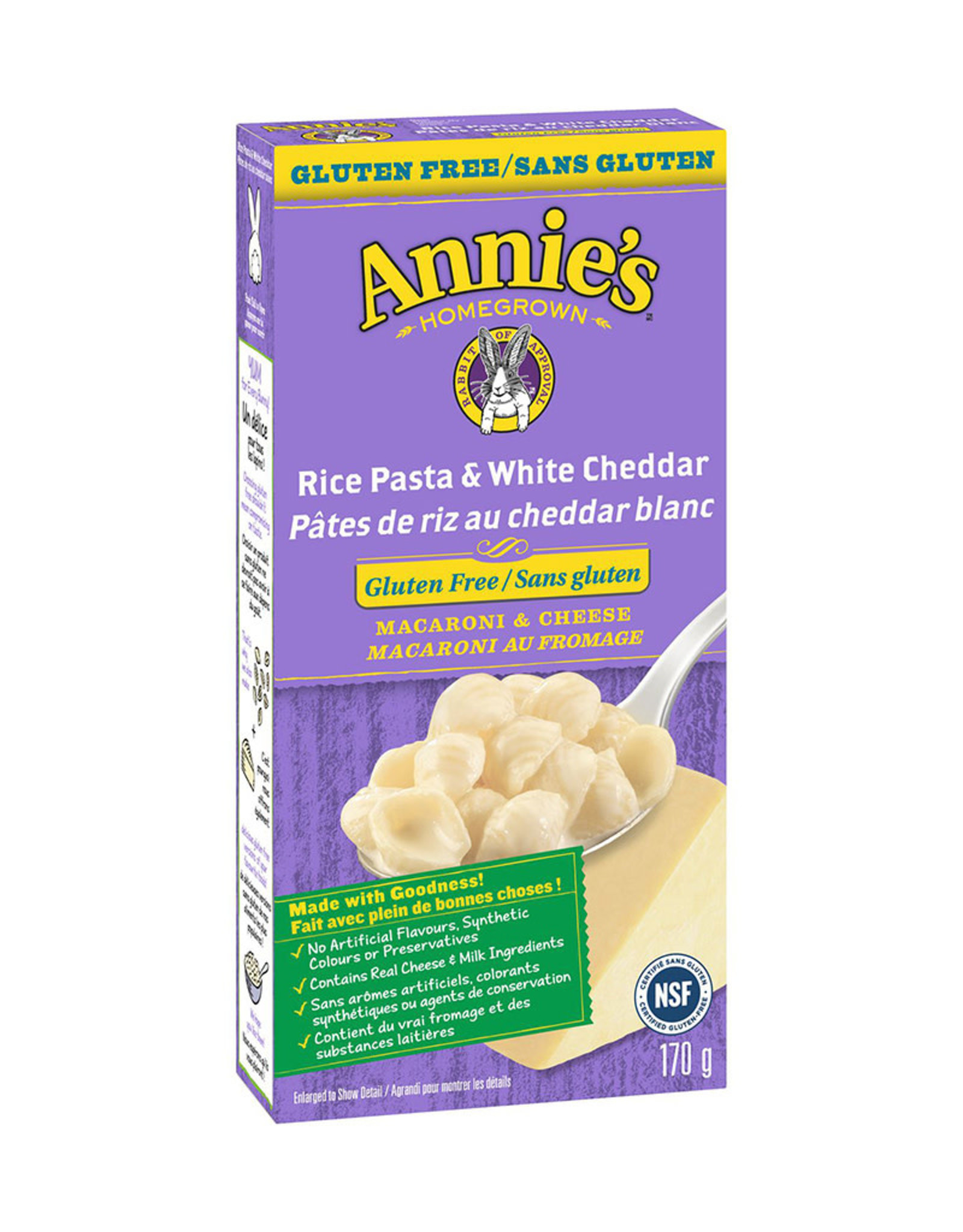 Annie's Annies - Rice Sells and White Cheddar