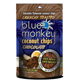Blue Monkey Blue Monkey - Baked Coconut Chips, Dark Chocolate (40g)