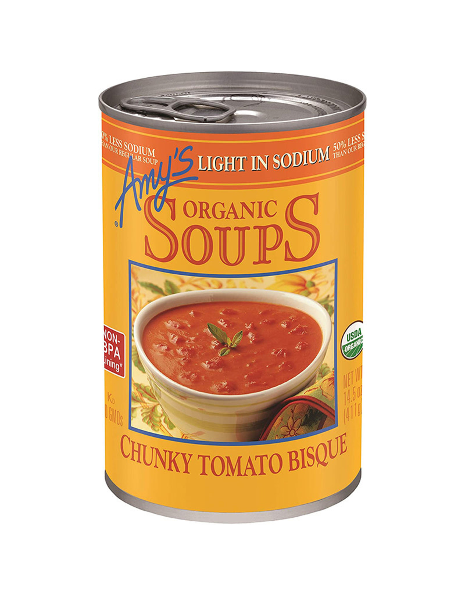 Amy's Kitchen Amys Kitchen - Tomato Bisque Soup Low Sodium