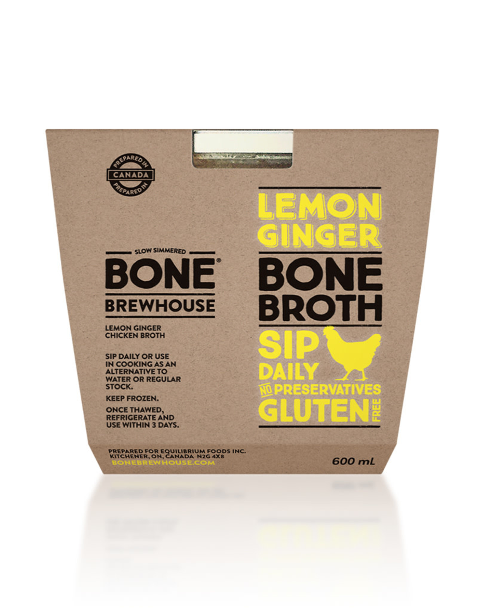 Bone Brewhouse Bone Brewhouse - Bone Broth, Lemon & Ginger Chicken