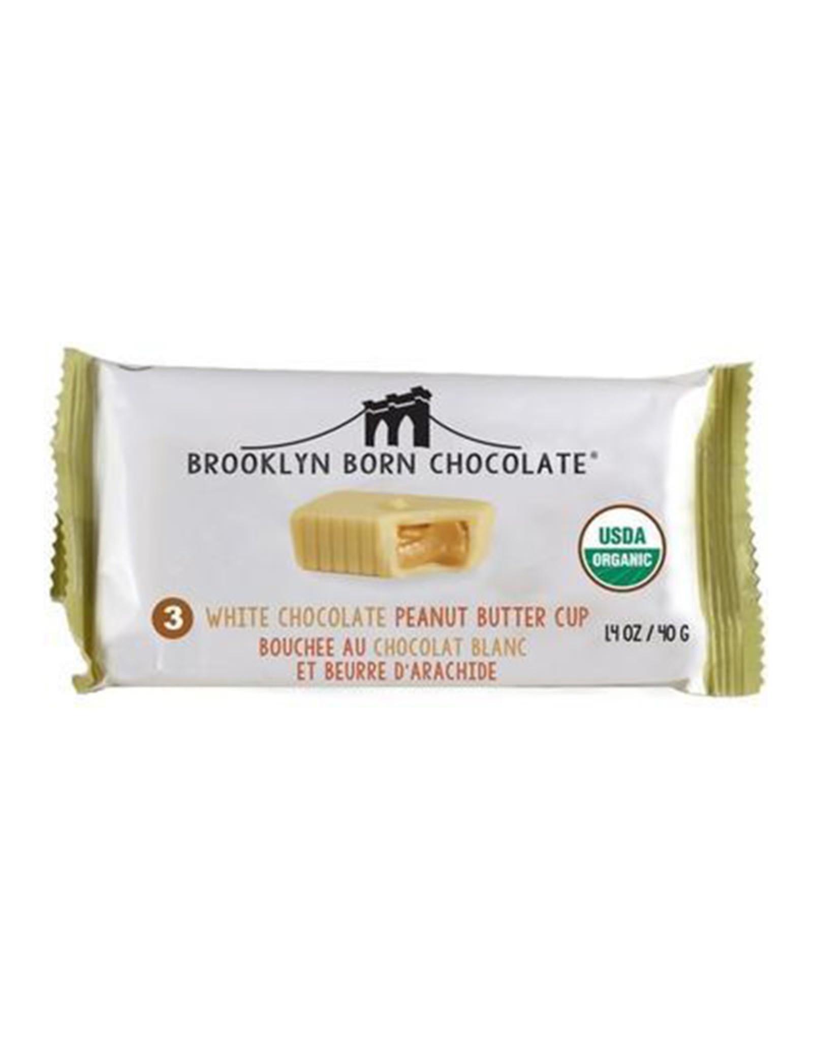 Brooklyn Born Chocolate Brooklyn - Peanut Butter Cups, White Chocolate (70g)