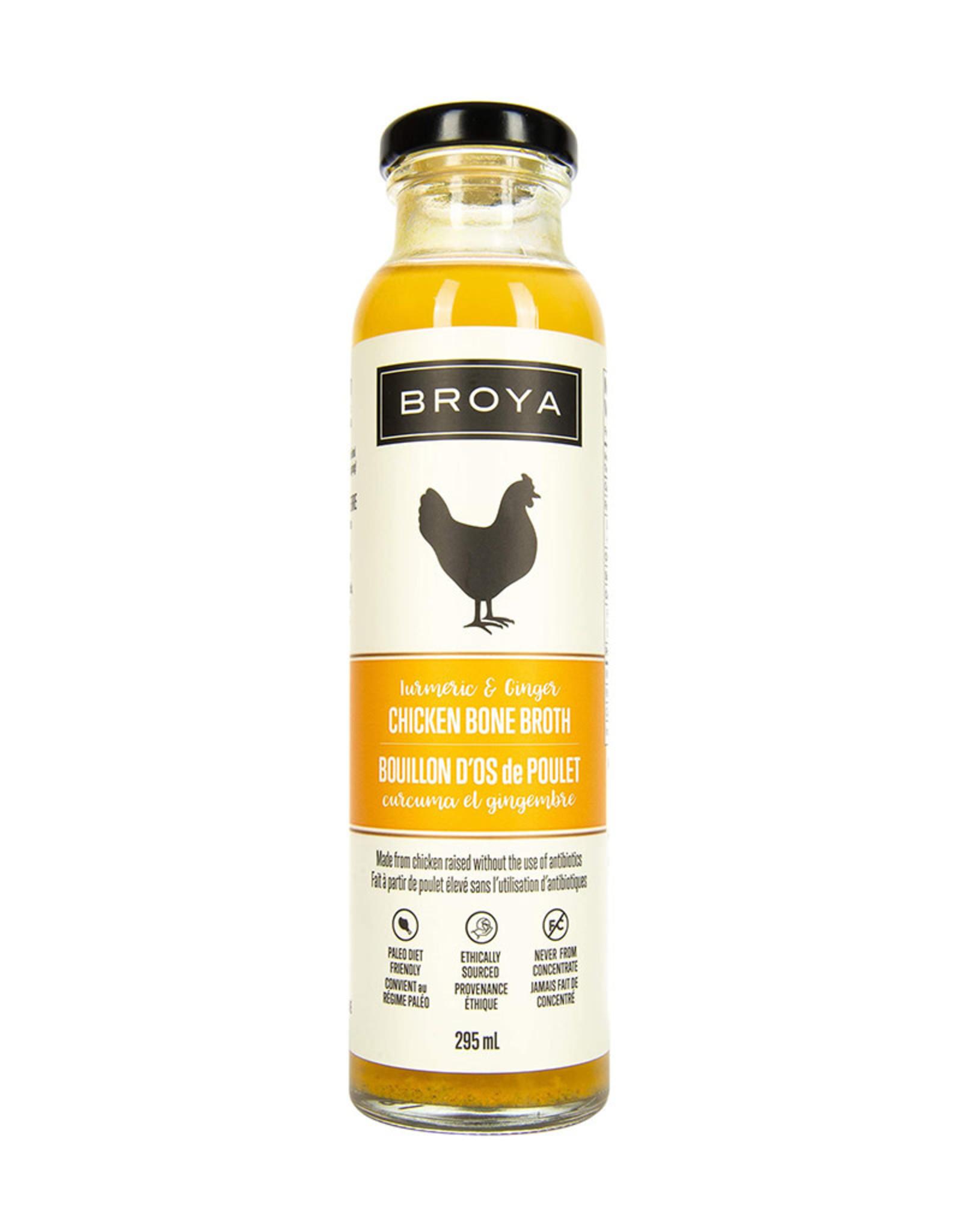 Broya Broya - Chicken Bone Broth, Turmeric & Ginger
