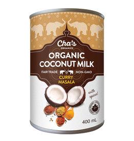 Cha's Organics Chas Organics - Coconut Milk, Curry Masala