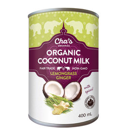 Cha's Organics Chas Organics - Coconut Milk, Lemongrass Ginger