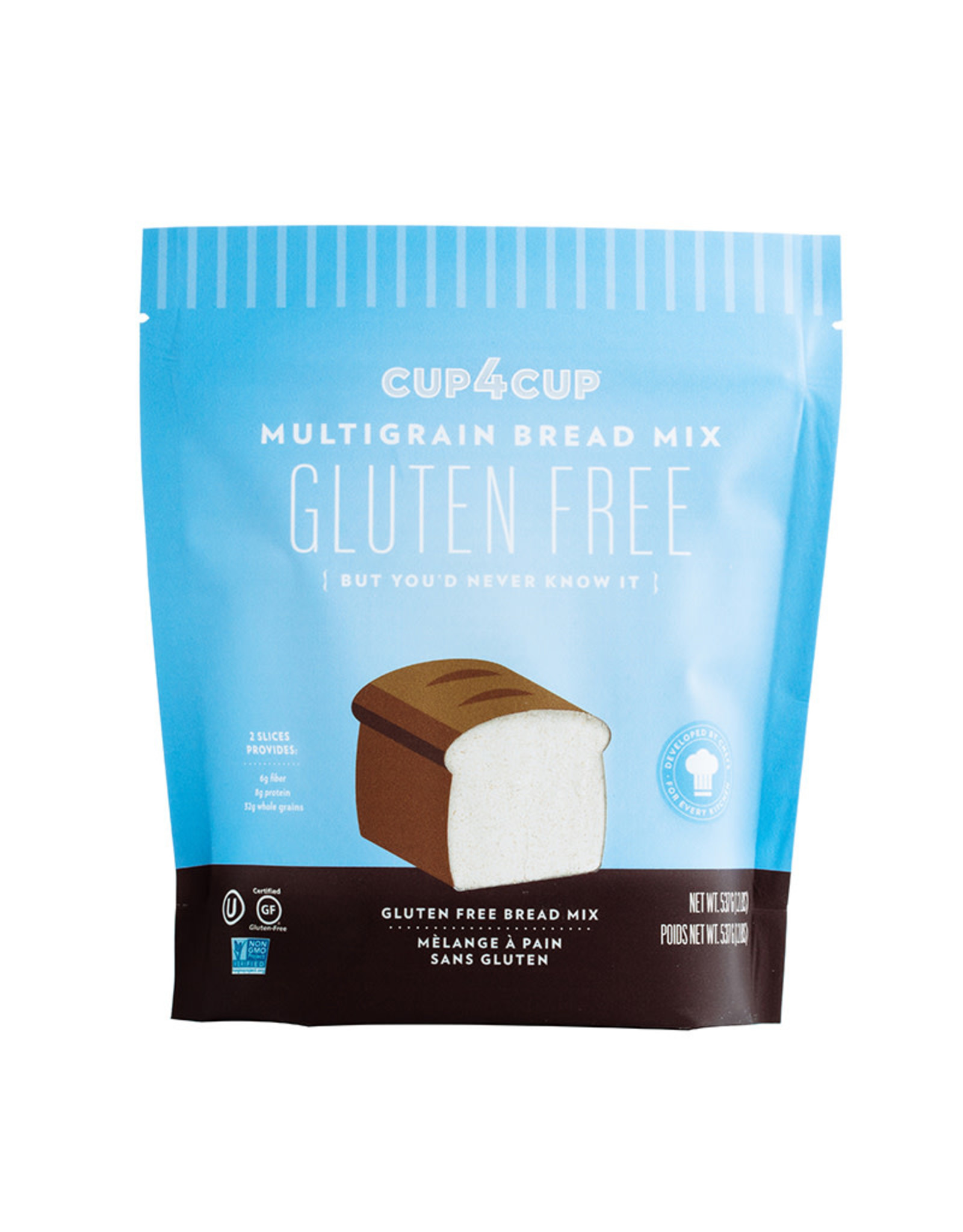 Cup4Cup Cup4Cup - Gluten Free Bread Mix, Multigrain (537g)