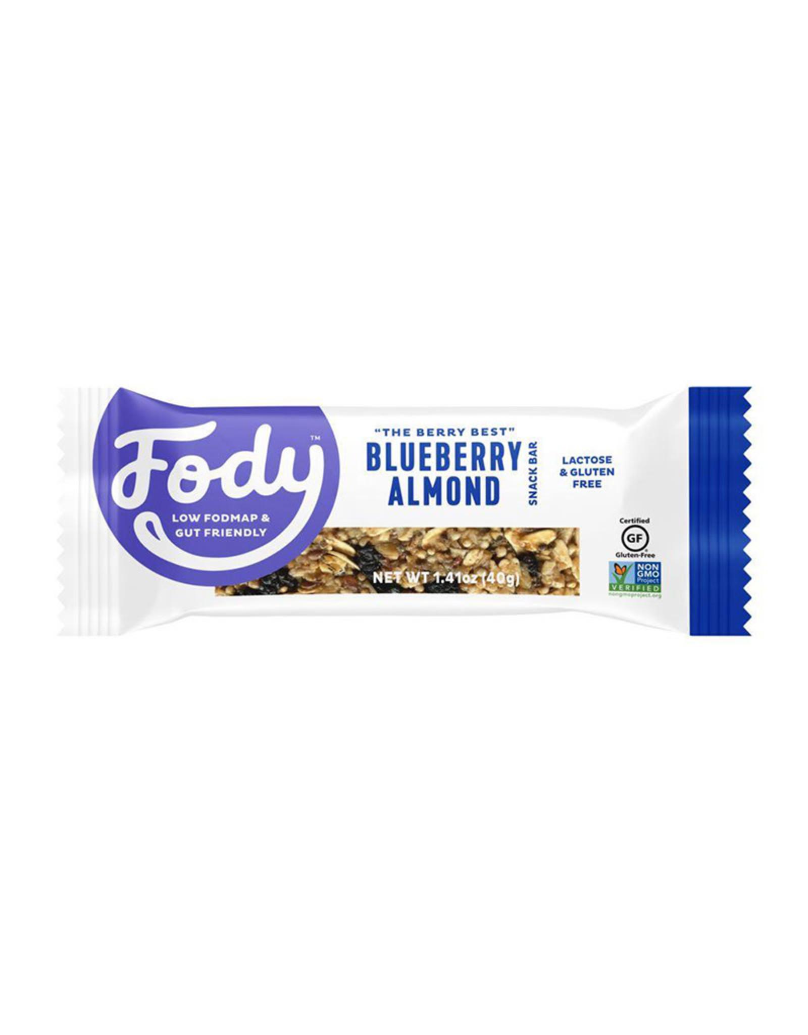 Fody Food Co. Fody - Snack Bar, Blueberry Almond (40g)