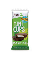 Free2B Free2B - Mint Cups, Dark Chocolate Coated (42g)