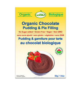 GoBio GoBio - Pudding, Chocolate (50g)