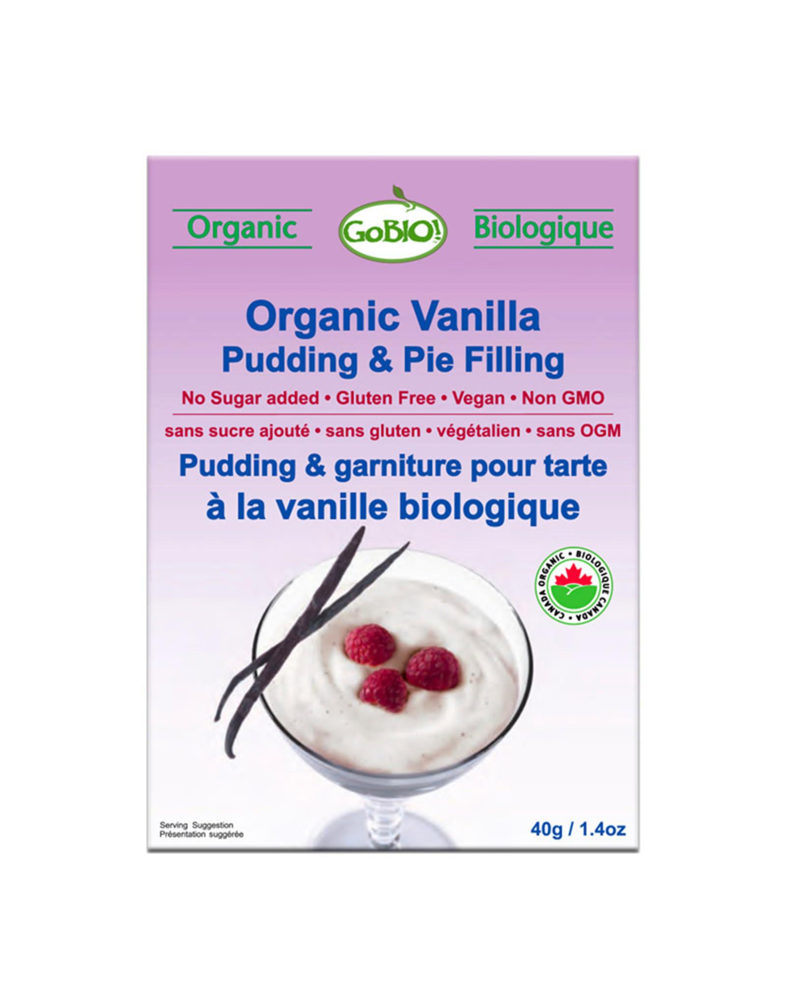 GoBio GoBio - Pudding, Vanilla (40g)