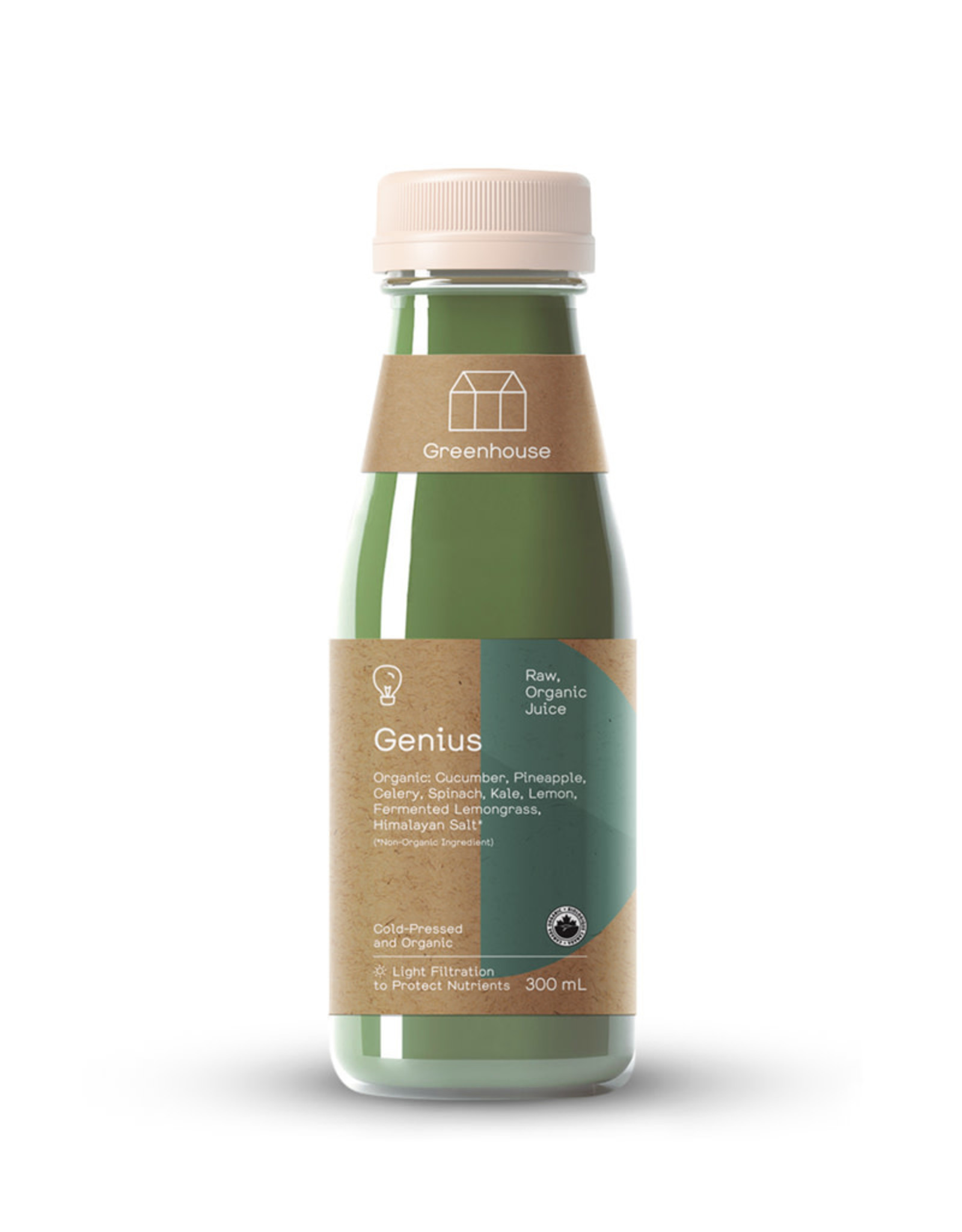 Greenhouse Juice Co. Greenhouse - Cold Press Juice, Genius (300ml)