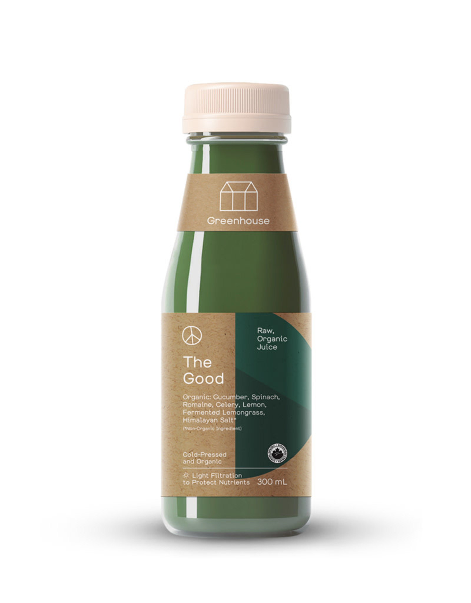 Greenhouse Juice Co. Greenhouse - Cold Press Juice, The Good (300ml)