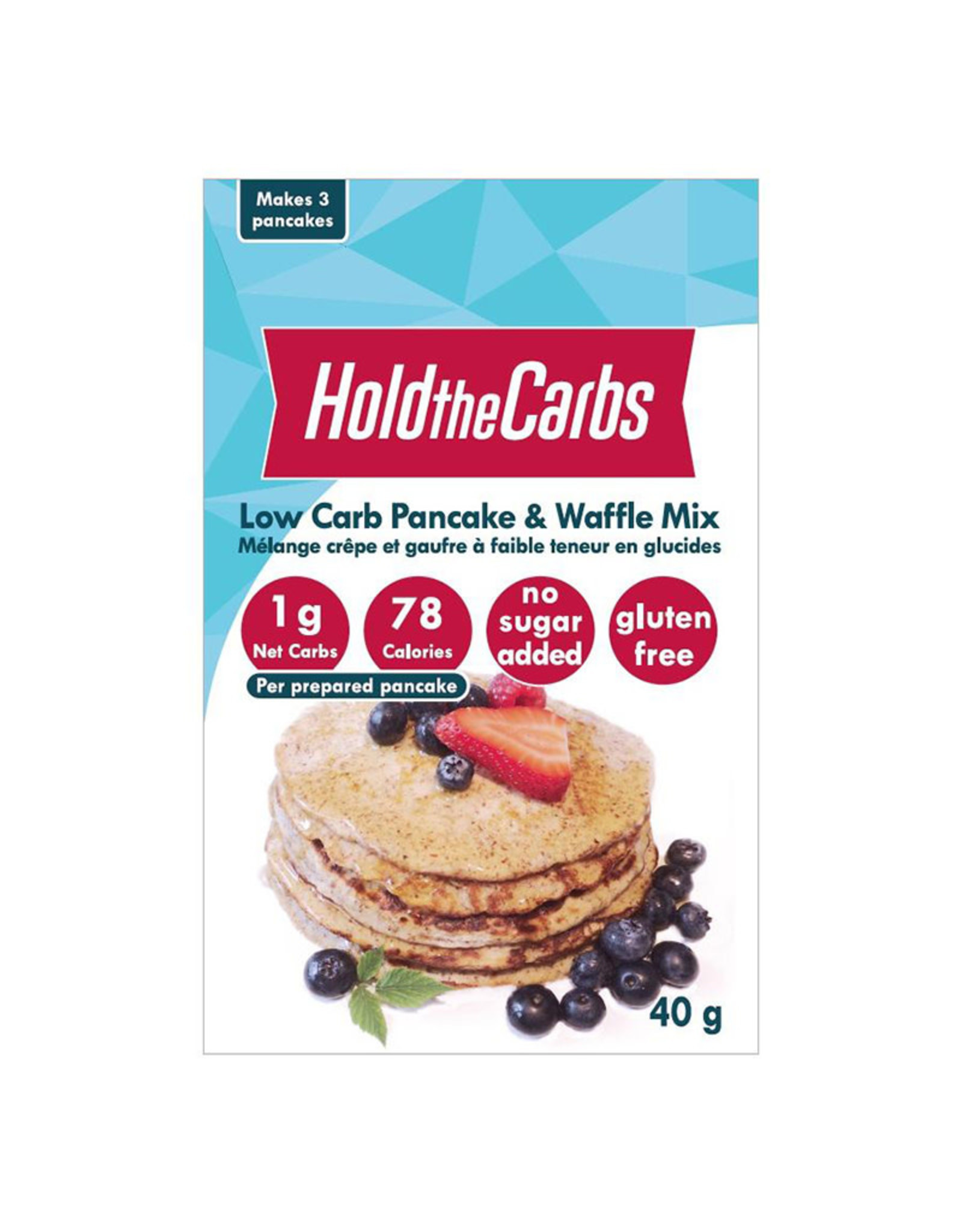 Hold the Carbs Hold the Carbs - Pancake Mix (Small)