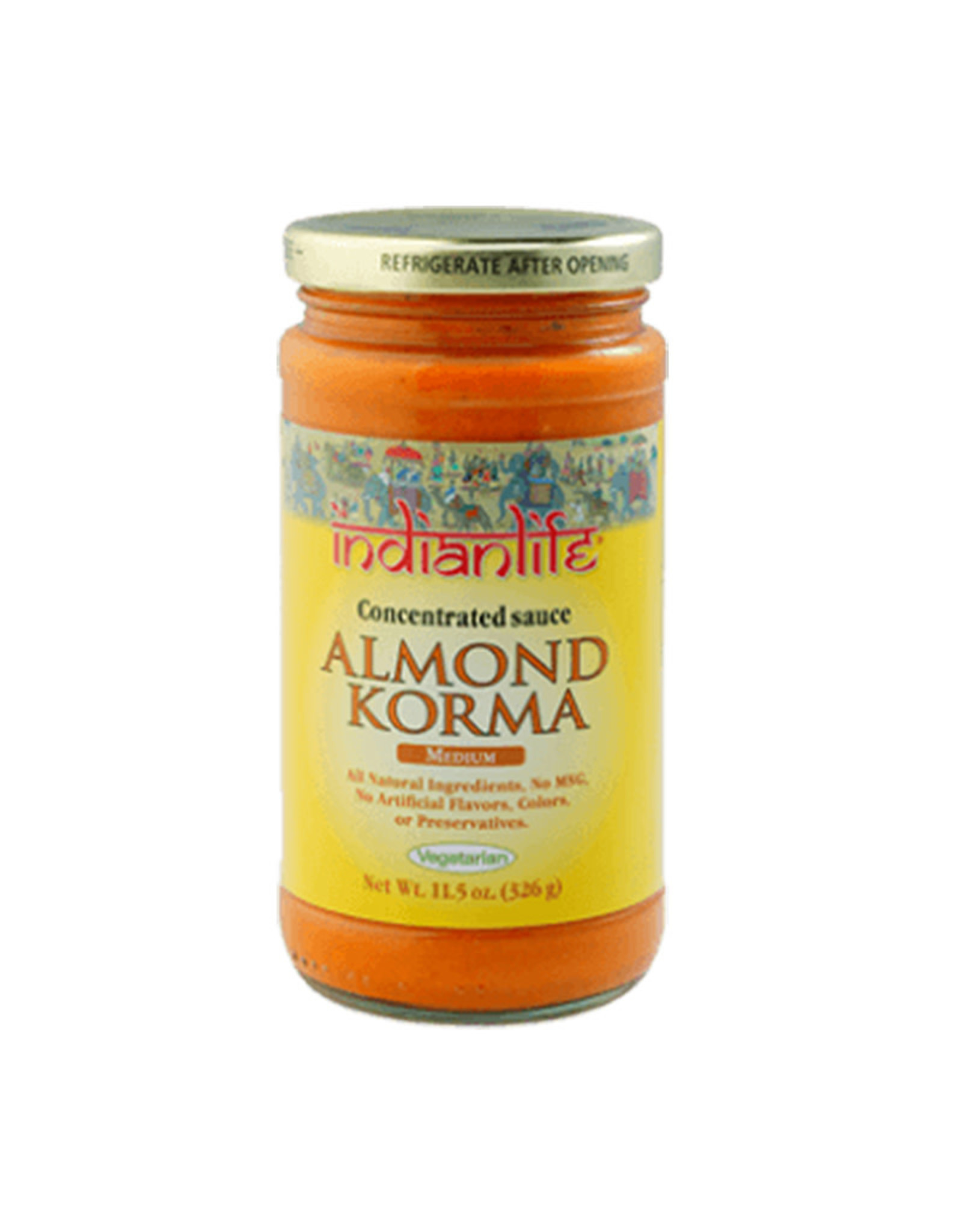 IndianLife IndianLife - Cooking Sauce, Almond Korma (360ml)