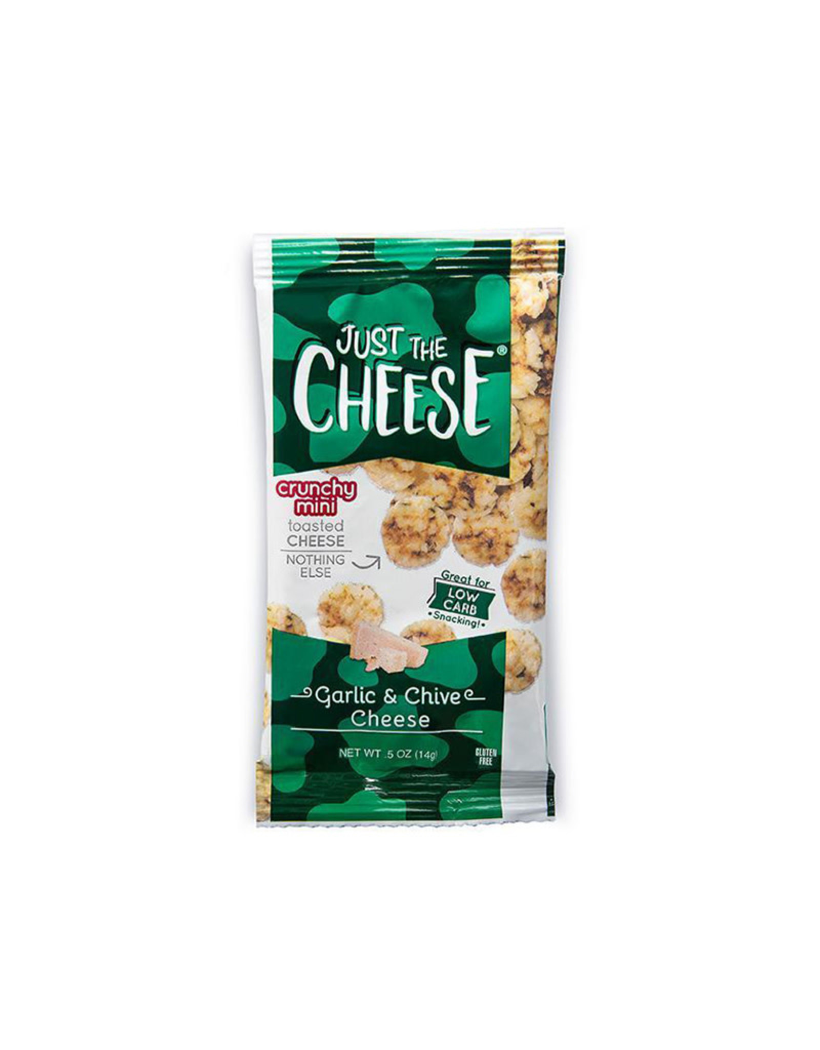 Just the Cheese Just The Cheese - Minis, Garlic & Chive (14g)