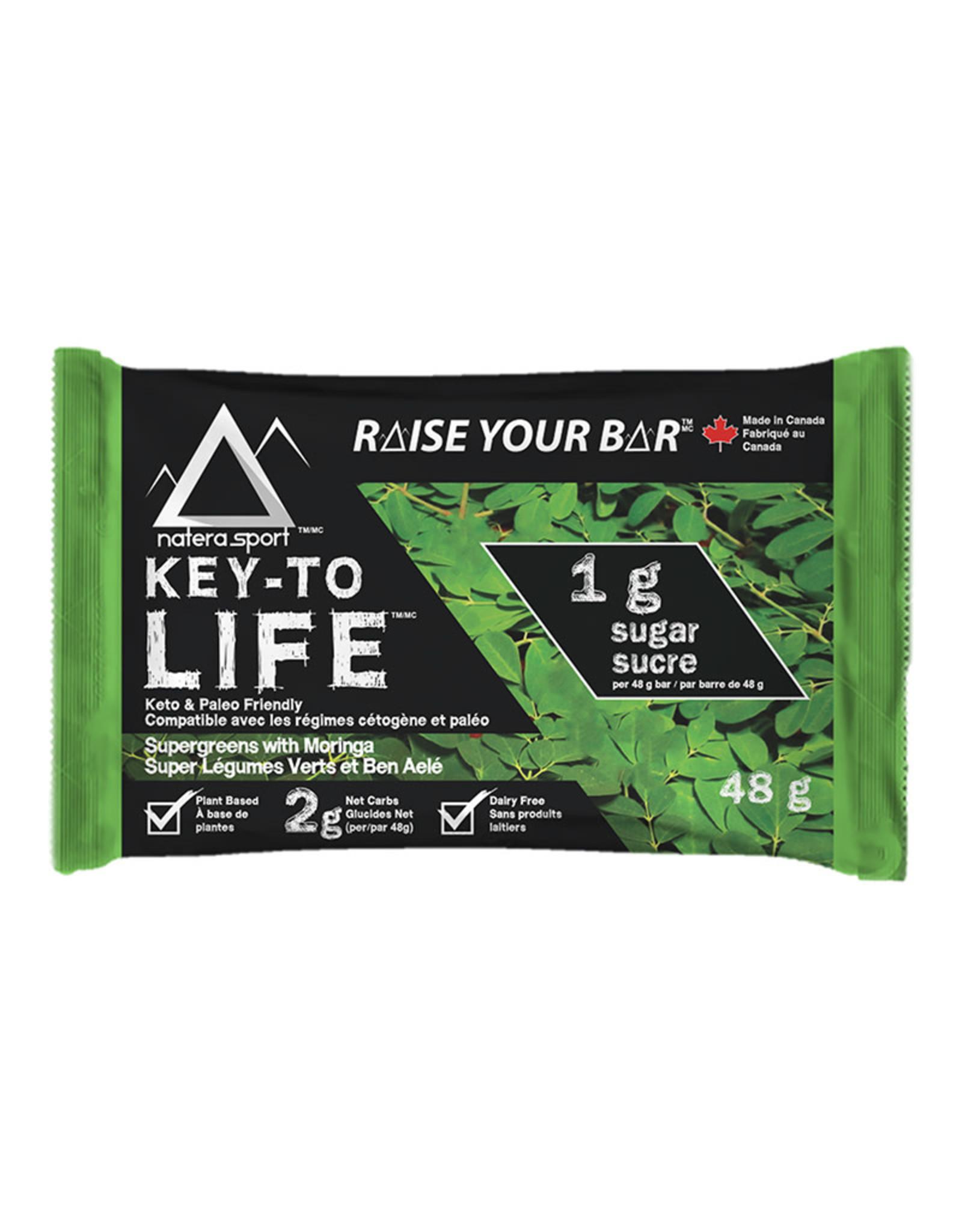 Key-To Life Key-to Life - Keto Bar, Supergreens with Moringa