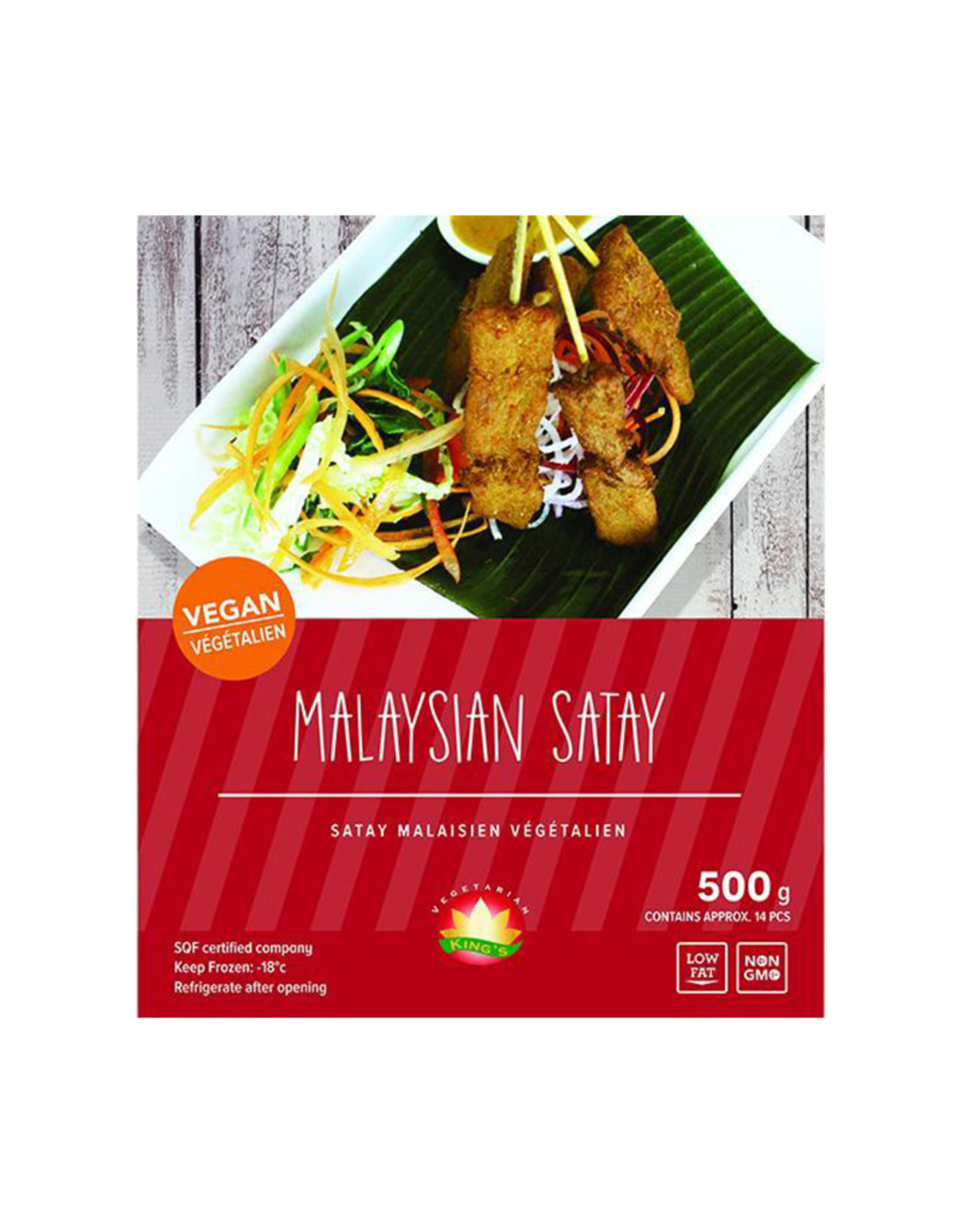 Kings Vegetarian Food Kings Vegetarian Food - Malaysia Satay