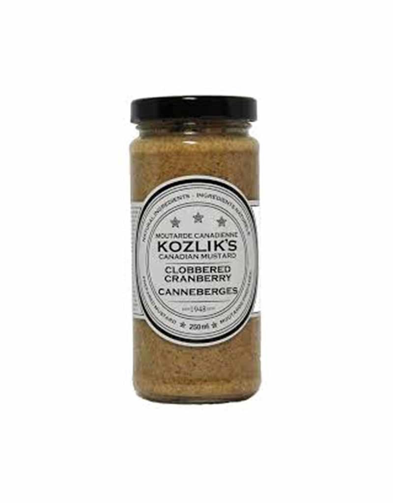 Kozliks Kozliks - Mustard, Clobbered Cranberry