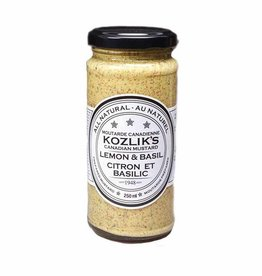 Kozliks Kozliks - Mustard, Lemon with Basil