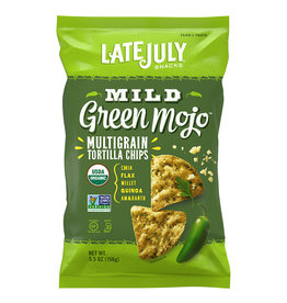 Late July Late July - Multigrain Snack Chips, Mild Green Mojo