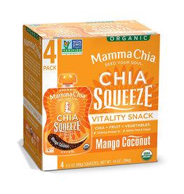 Mamma Chia Mamma Chia - Chia Squeeze, Mango Coconut (Box)