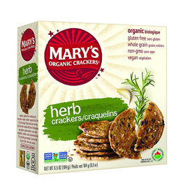 Mary's Organic Crackers Marys Organic Crackers - Herb
