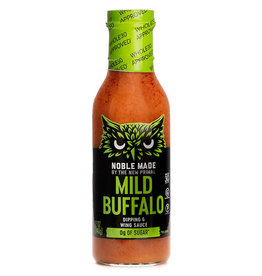 Noble Made Noble Made - Buffalo Dipping & Wing Sauce, Mild (340g)