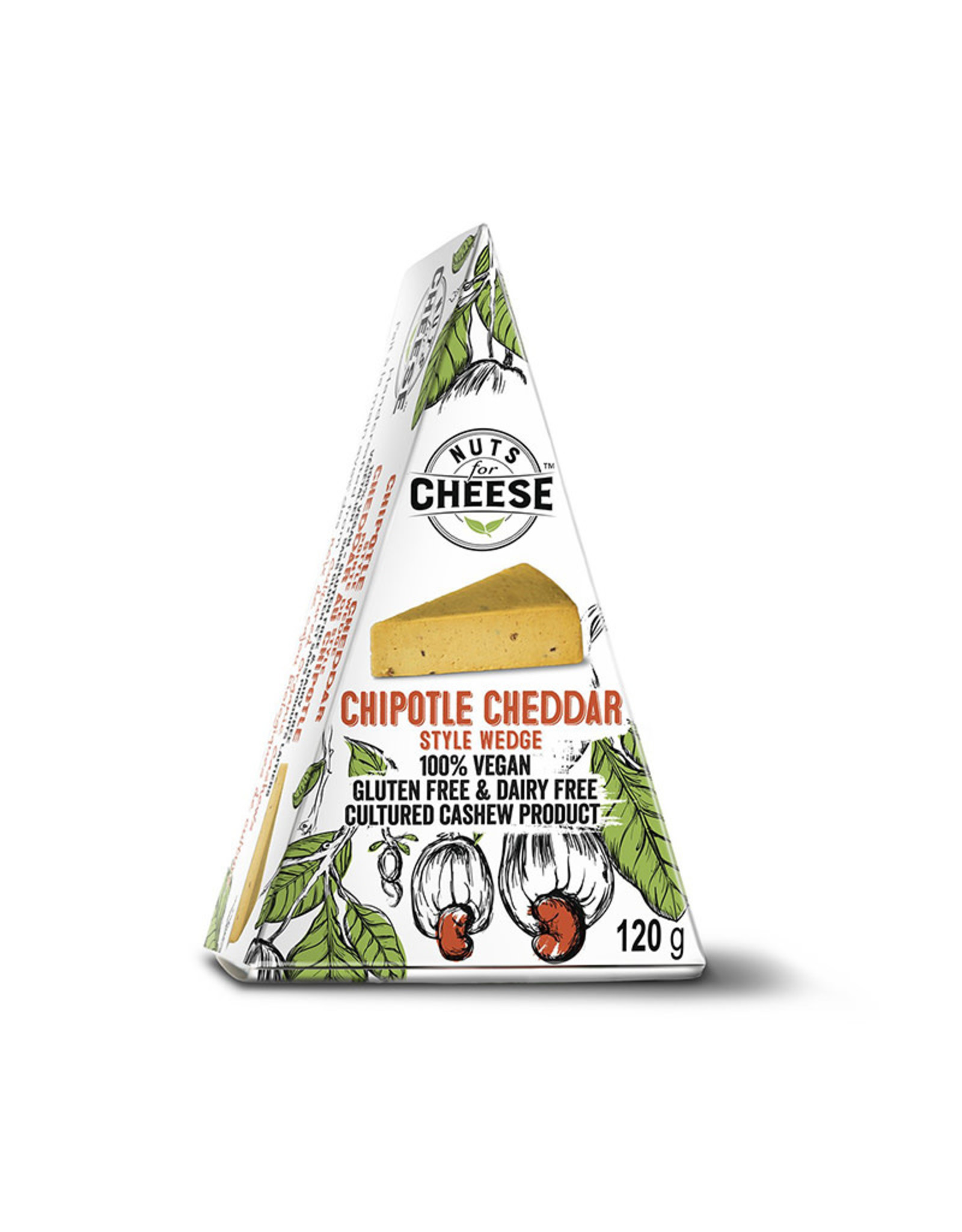 Nuts for Cheese Nuts For Cheese - Chipotle Cheddar (120g)