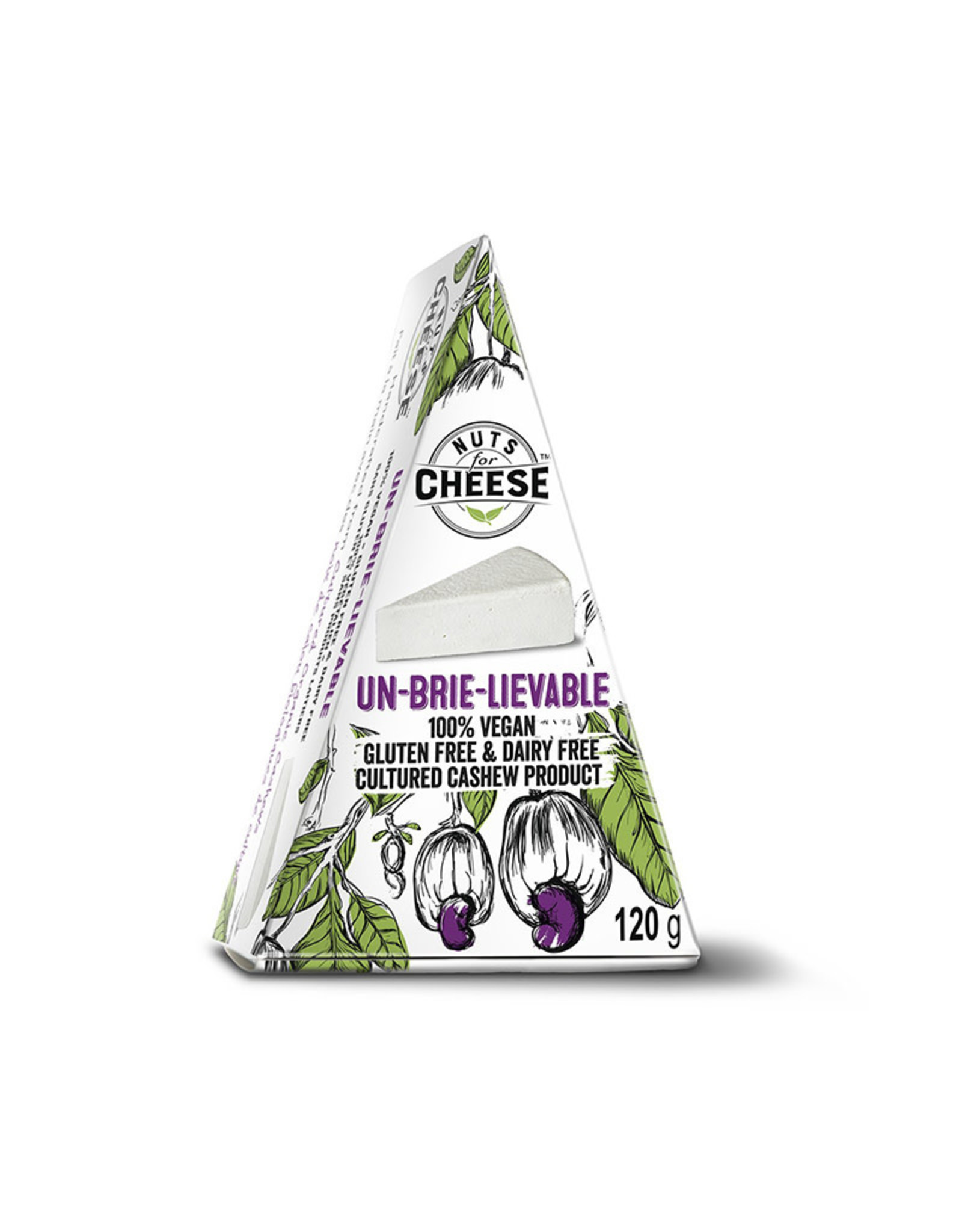 Nuts for Cheese Nuts For Cheese - Un-Brie-lievable (120g)