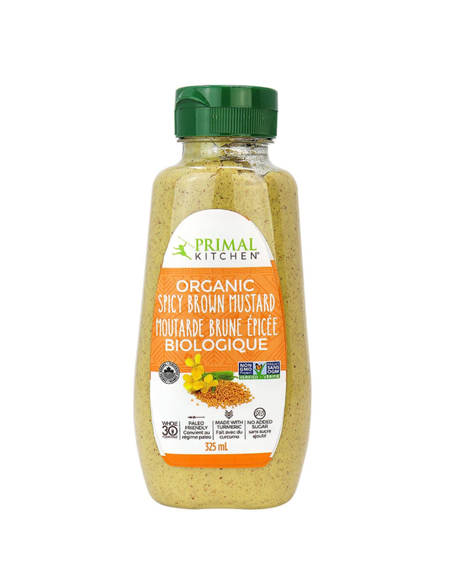 Primal Kitchen Primal Kitchen - Mustard, Organic Spicy Brown (340g)