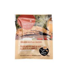 Rawnata Rawnata - Raw Flax Crackers, Cinnamon Goji
