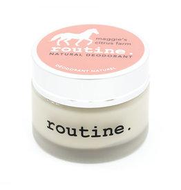 Routine Deodorant Routine - Maggies Citrus Farm