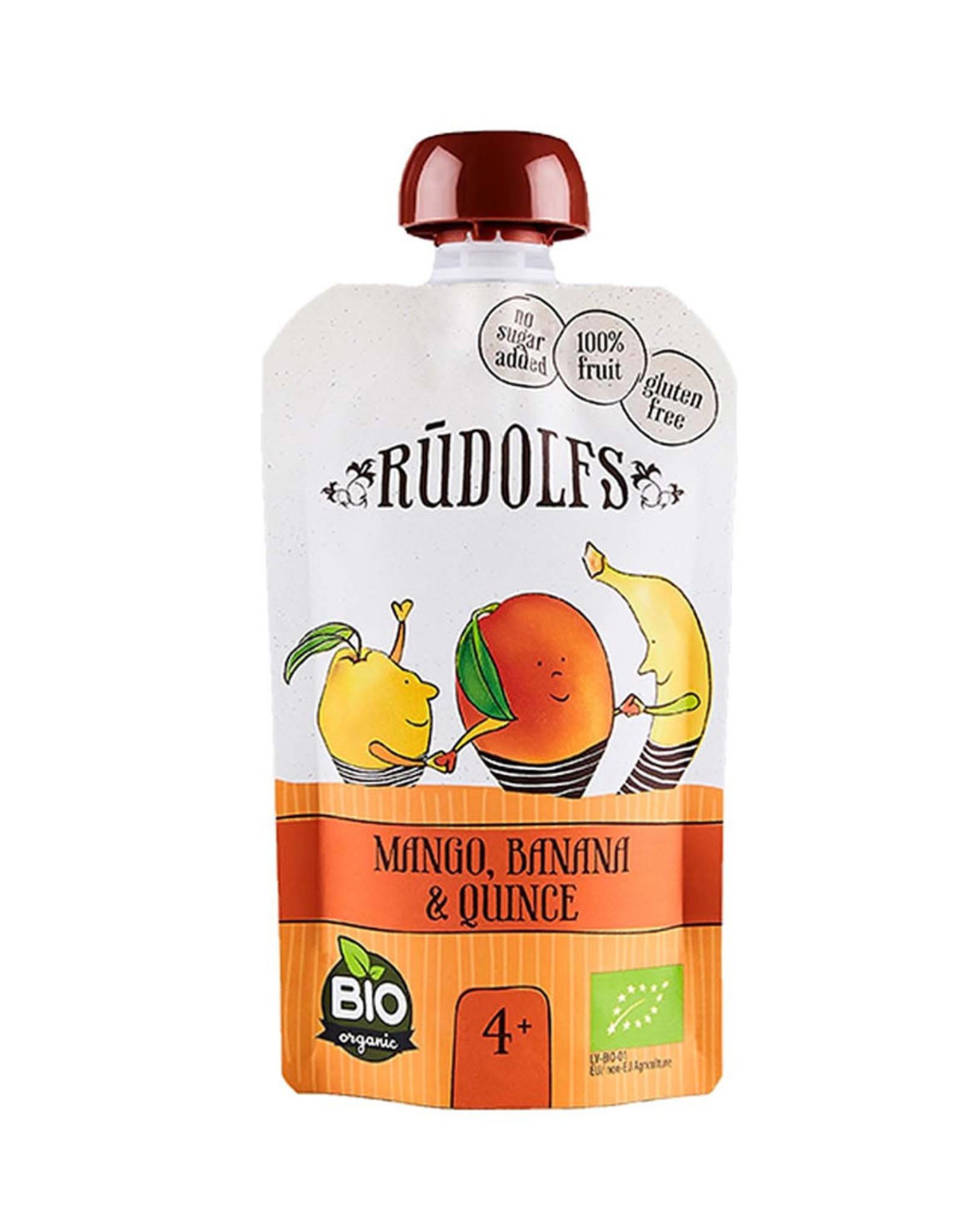 Rudolf's Bio Organics Rudolfs - Mango Banana Quince Puree (110g)