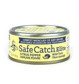 Safe Catch Safe Catch - Elite Wild Tuna, Citrus Pepper (142g)