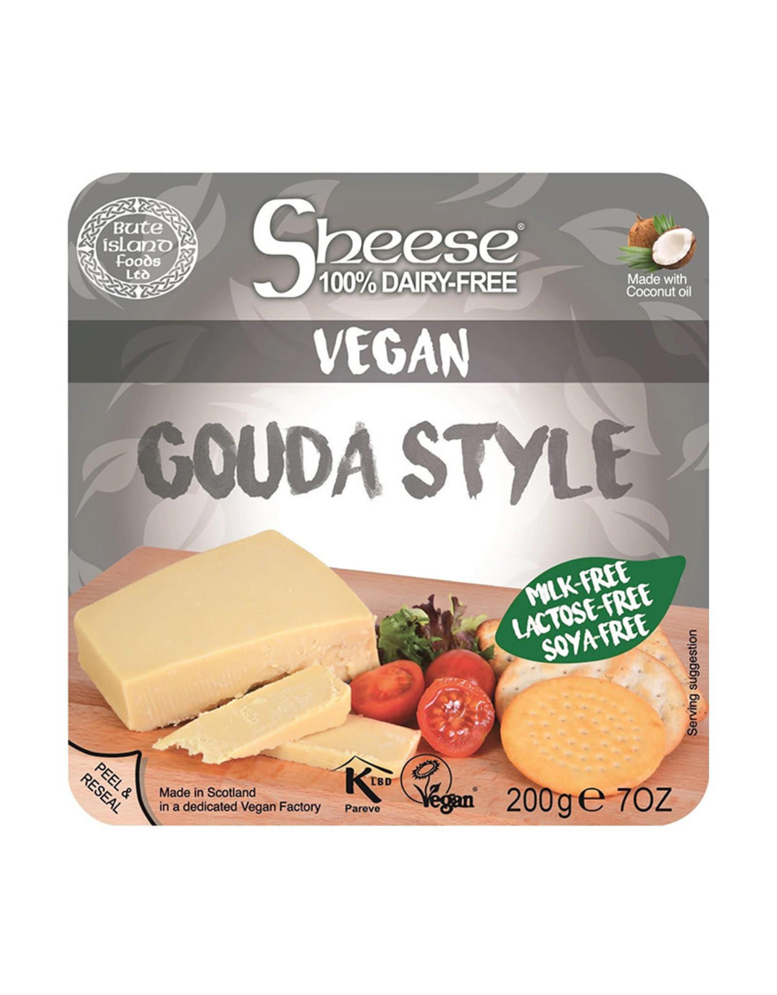 Sheese Sheese - Vegan Cheese Block, Gouda Style (200g)