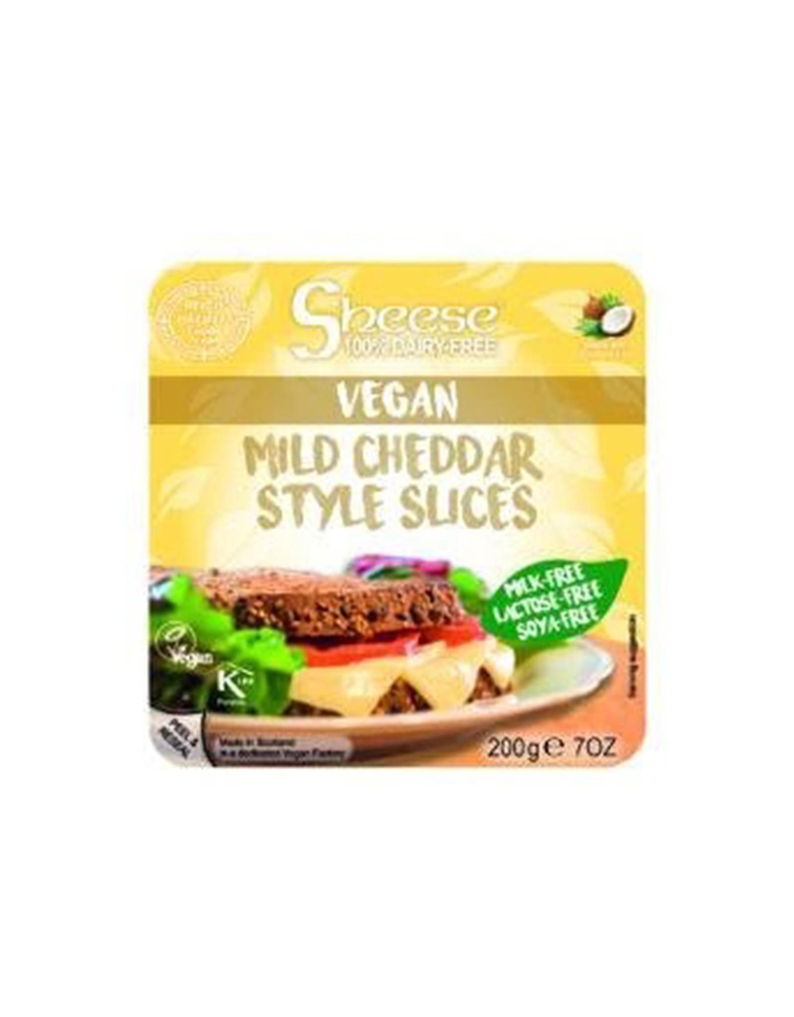 Sheese Sheese - Vegan Cheese Block, Mild Cheddar (200g)