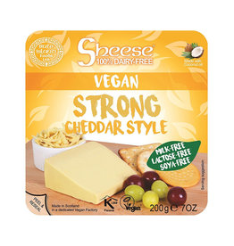 Sheese Sheese - Vegan Cheese Block, Strong Cheddar (200g)
