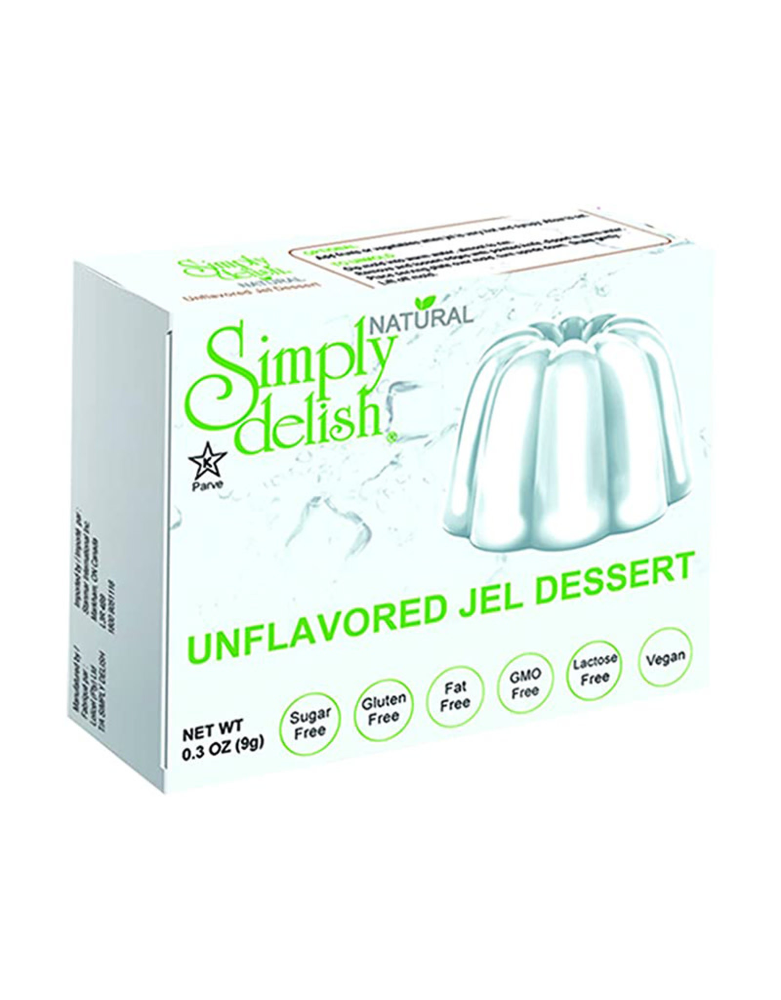 Simply Delish Simply Delish - Jell-O, Unflavoured (20g)