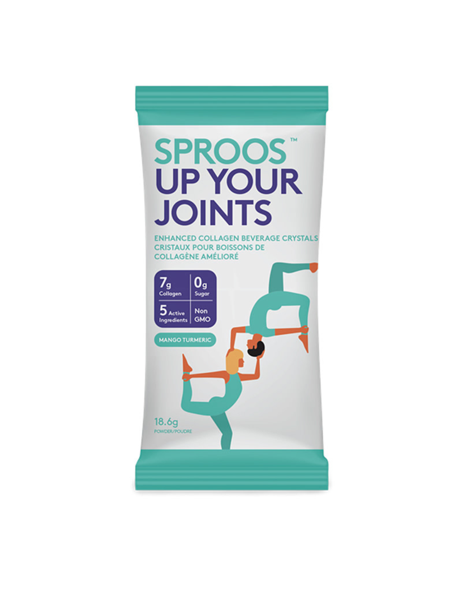 Sproos Sproos - Up Your Joints, Mango Turmeric (18.7g)