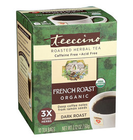 Teeccino Teeccino - Herbal Tea, French Roast (10 Bags)