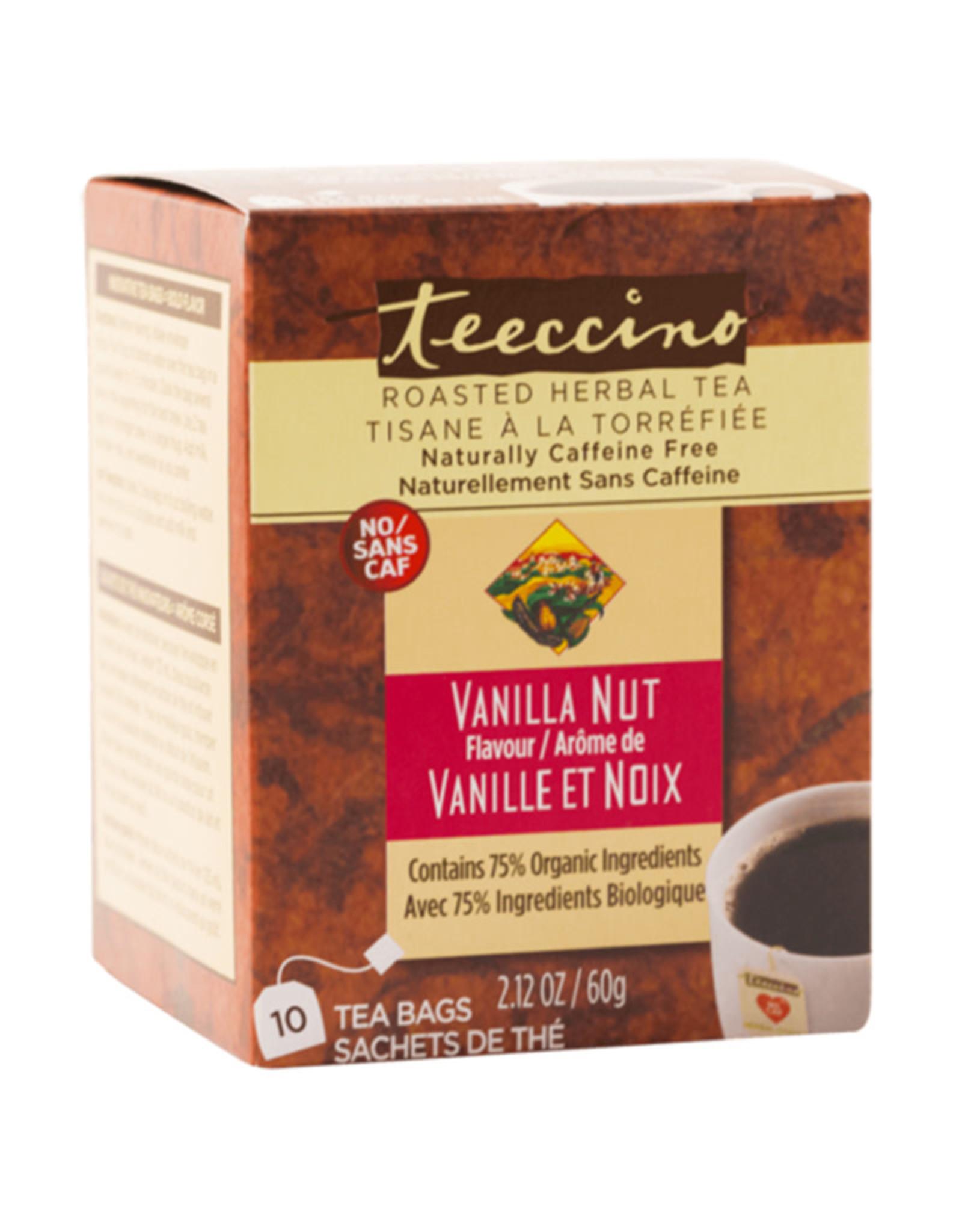 Teeccino Teeccino - Herbal Tea, Vanilla Nut (10 Bags)