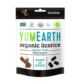Yum Earth Yum Earth - Licorice, Black (142g)